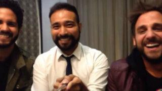 Rodrigo González presentó a su novio en videoblog mexicano