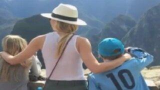 Actriz Gwyneth Paltwor visitó nuestro país