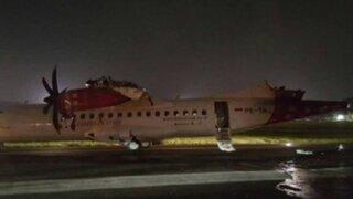 Indonesia: dos aviones chocan antes de despegar