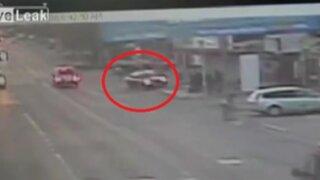 Despiste de auto dejó cinco muertos en Rumania
