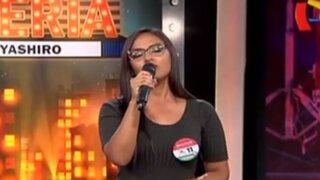 Violeta Beas: candidata sorprende al interpretar tema del 'Zambo' Cavero