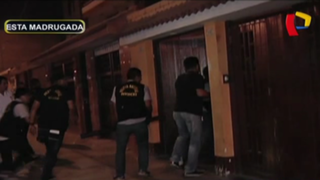 Callao: allanan casa de vendedor de droga en Bellavista
