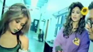 """Doménica Delgado frente a frente con Alessa Canales en """"Los Reyes del Playback"""""""