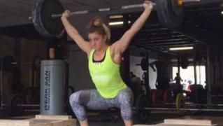 Deportista pasó bochornoso momento tras causar desastre en gimnasio
