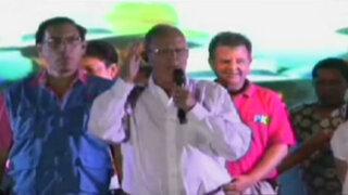 Así fue el cierre de campaña de Pedro Pablo Kuczynski en Trujillo