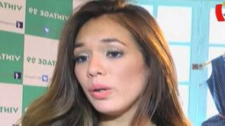 Jazmín Pinedo habla sobre incidente en vivo con Sandra Arana