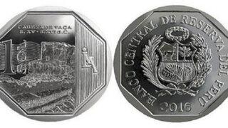 Conozca la nueva moneda alusiva a la zona arqueológica Cabeza de Vaca