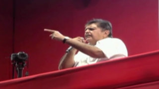 Alan García cerró su campaña en Jesús María