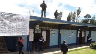 Policía Nacional garantiza seguridad total durante las elecciones