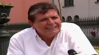 Alan García renunció a presidencia del Apra