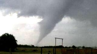 Poderoso tornado destruye edificios en Estados Unidos