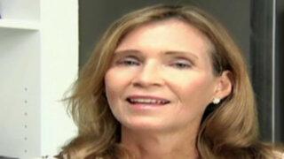Claudia Ganoza: habla la esposa de Alfredo Barnechea