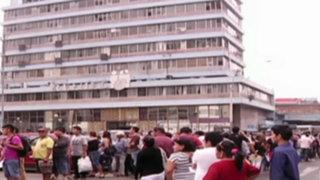 Centro de Lima: largas colas en Reniec por DNI