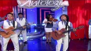 Porque Hoy es Sábado: el grupo Antología nos puso a bailar al ritmo del Perú