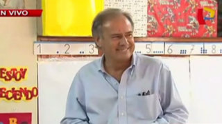 Alfredo Barnechea ejerció su derecho al voto de forma electrónica