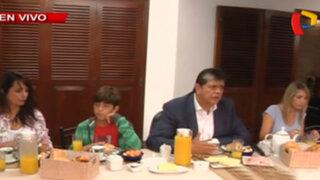 Elecciones 2016: así fue el desayuno electoral de Alan García