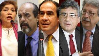 Candidatos al Congreso analizan desarrollo del proceso electoral
