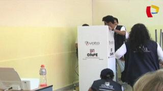 Electores reportaron fallas en sistema de voto electrónico