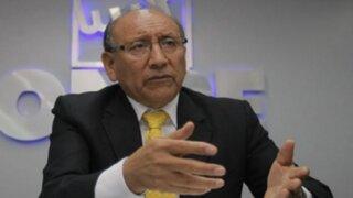 Jefe de la ONPE pidió disculpas por incidentes durante comicios