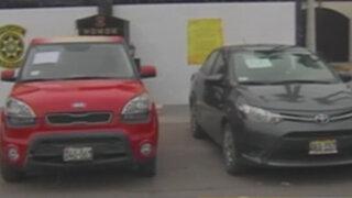 Policía recupera autos robados tras importante operativo