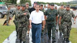 """Ollanta Humala: """"El terrorismo hoy en día no es una amenaza para el Estado"""""""