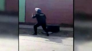 Dejan granada dentro de vivienda en el Cercado de Lima