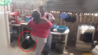 Sujeto amenaza con hacer estallar balón de gas si lo desalojan