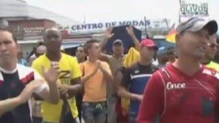 Costa Rica: cubanos migrantes entraron violentamente al país