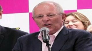 PPK propone 'muerte civil' para funcionarios corruptos