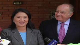 Elecciones 2016: Keiko Fujimori se reunió con Ántero Flores-Aráoz