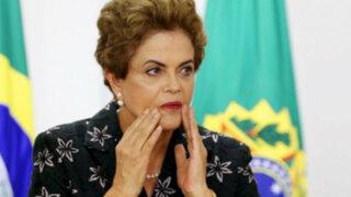 Brasil: Dilma Rousseff a un paso de ser destituida