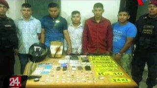 Capturan a cuatro falsos colectiveros en Villa El Salvador