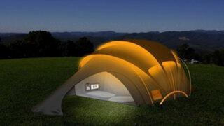 ¿Quieres acampar pero con todas las comodidades? ¡Esto es lo que tanto esperabas!