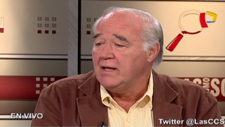 García Belaunde no descarta diálogo entre Barnechea y Keiko Fujimori