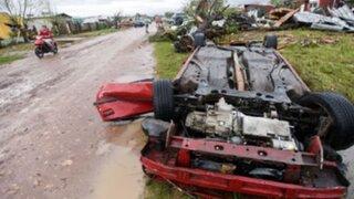 Uruguay: decretan duelo nacional tras tornado que dejó cuatro muertos y 30 heridos