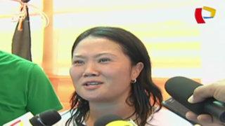 Keiko Fujimori afirma que recogerá propuesta de renegociación del gas de Barnechea