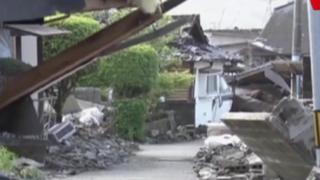 Terremoto en Japón: trabajos de rescate se complican por mal tiempo