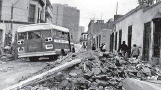 Los terremotos más fuertes que sacudieron Lima