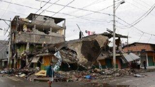Las impactantes imágenes que dejó el devastador terremoto en Ecuador