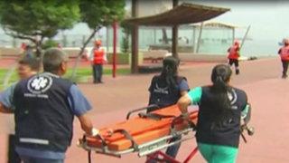 Callao: Municipalidad realizó simulacro de sismo y tsunami