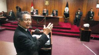 Tribunal Constitucional rechazó anular sentencia a Alberto Fujimori