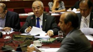 Fiscalización aprobó preinforme sobre caso agendas de Nadine Heredia