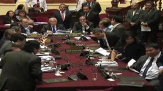 Nacionalistas abandonan Fiscalización y denuncian persecución política contra Nadine