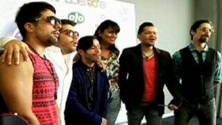 Salserín regresó al Perú después de 19 años