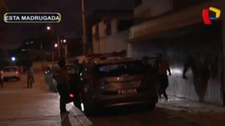 Asaltantes balean a efectivo policial en el Cercado de Lima