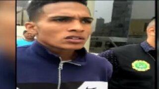 """Callao: policías vuelven a capturar a delincuente """"Pinino"""""""