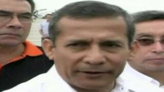 Exnacionalistas critican a Ollanta Humala por declaraciones sobre agendas