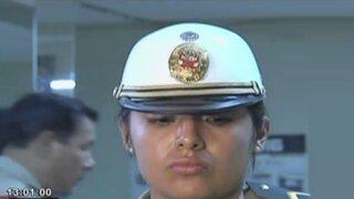 Sujeto que agarró a puñetazos a mujer policía podría ir hasta 12 años a prisión