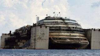 FOTOS: ¿Cómo quedó el interior del crucero Costa Concordia tras su naufragio?