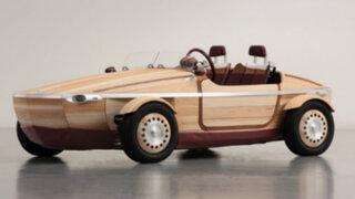 VIDEO: Setsuna, el primer auto de madera que más de uno quisiera tener